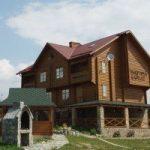 Дерев'яний будинок – запорука здоров'я.