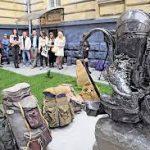 Памятник Рюкзаку
