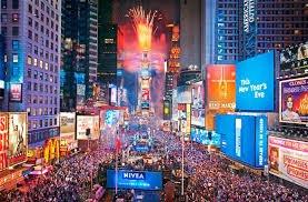 Новий рік в США
