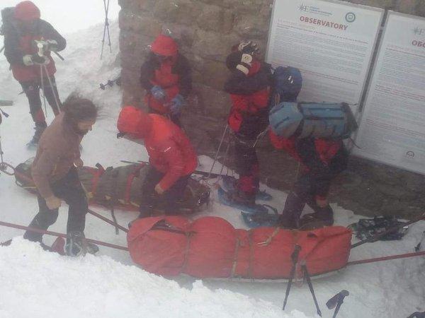 Перетворилися в лід: подробиці загибелі туристів в Карпатах